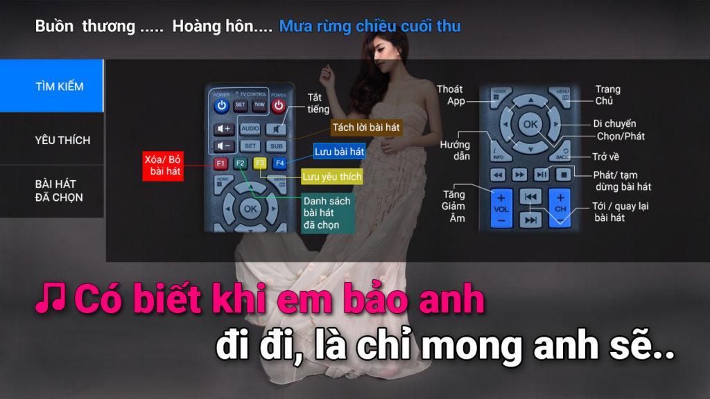 hát Karaoke trên truyền hình fpt ninh bình